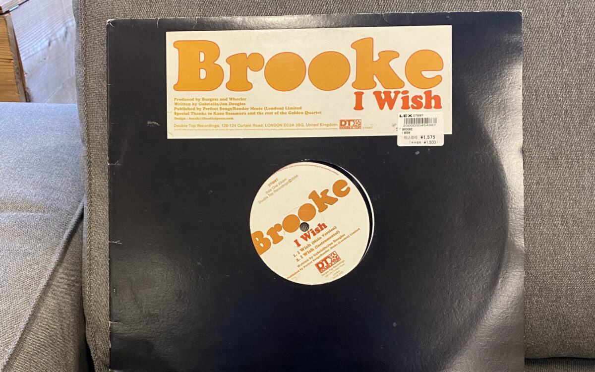 recommend music/Brooke「I Wish」